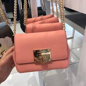 MK Tina Mini Crossbody bag  Peach